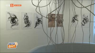 Изложбата Летящите корени на Сашо Атанасов