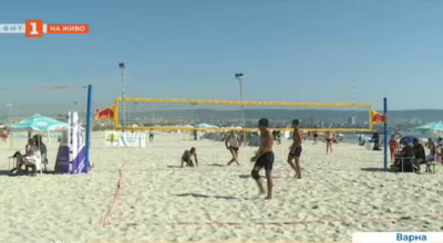 Маратон на плажните спортове във Варна