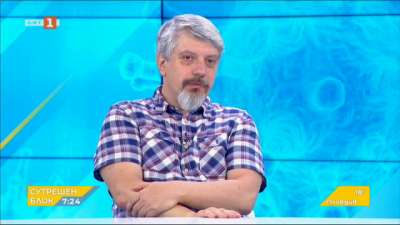 Проф. Николай Витанов, БАН: Епидемията много бавно се свива, достигнахме платото за август