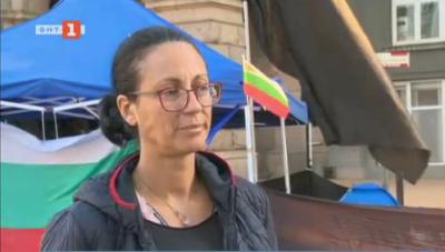 Майките от Системата ни убива преместиха палатките си на Дондуков