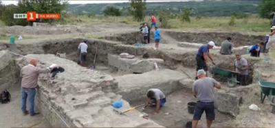 Разкопки на античното селище Рациария край село Арчар, Видинско