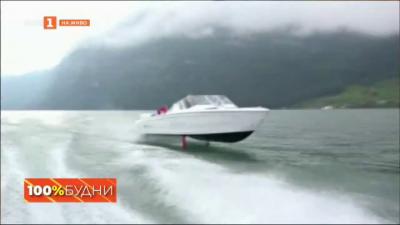 Икономична електрическа моторна лодка