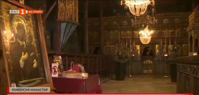 В Роженския манастир на Малка Богородица