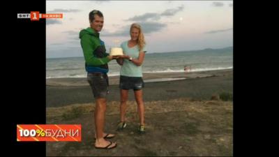 Мария Николова, която подобри рекорда на Ком - Емине за жени