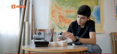 Ученик от Шумен спасява стари учебни помагала