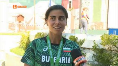 Маринела Нинова със златен медал от Балканския шампионат по маратон в Кюстендил