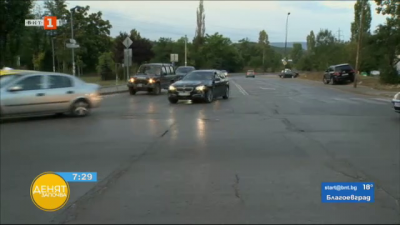 Реорганизация четири кръстовища в жк Люлин