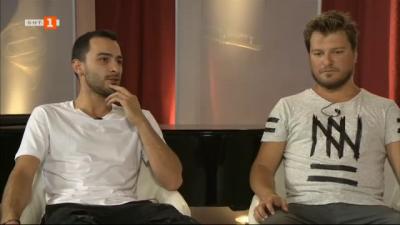Алекс Атанасов и Милен Максимов за участието на Drop Down Community в Моцартовите празници в Правец