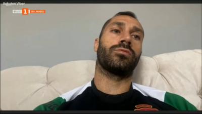 Петър Занев, капитан на мъжкия национален отбор - как се бори с Ковид 19