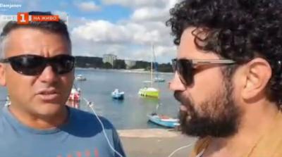 Разходка с лодка срещу бутилка събрани от плажа фасове