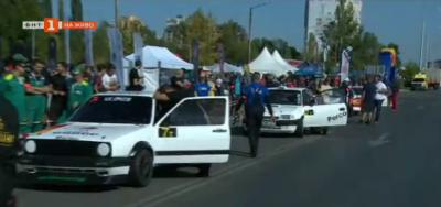 Пряко от най-голямото автомобилно състезание в София