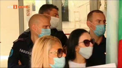Протест в онкодиспансера в Пловдив
