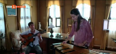 Среща с младата перкусионистка Виви Василева