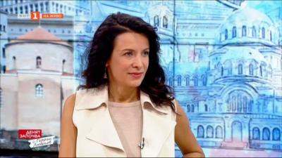 Актрисата Яна Маринова в съботното утро