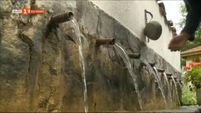 За пълноводието на един водопад