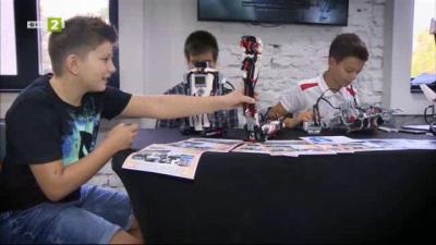 20 хиляди деца се обучават по роботика у нас