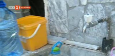 Жителите на с.Струмяни протестират срещу режим на водата
