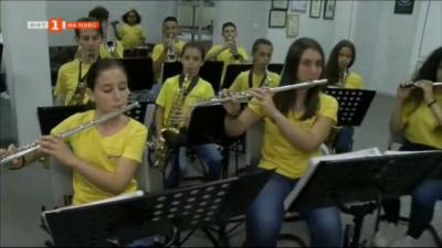 Джуниър Бенд - училищният духов оркестър в Търново