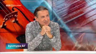 Людмил Ангелов представя фестивалите Пиано екстраваганца и Камералия