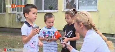 Екологични чаши в детска градина във Варна