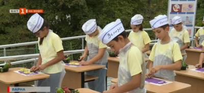 Традициите в здравословното хренене на децата - как се спазват във варненско училище