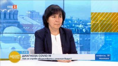 Доц. Петрова: Коронавирусът мутира с по-ниска честота, отколкото се разпространява