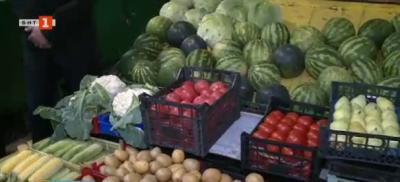 Цените на плодовете и зеленчуците на пазара в Русе