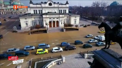 Историята на две емблематични сгради в София - Народното събрание и бившия Партиен дом