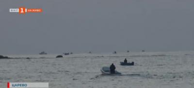 В сезона на риболова - улов на паламуд край Царево