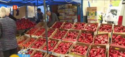 Цените на зеленчуците в Благоевград