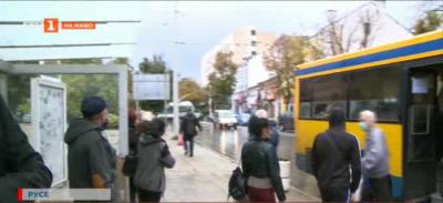 Броят пътникопотока в град Русе
