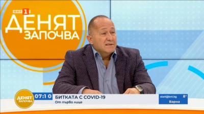 Д-р Дончев: Физическата преумора в Ковид зоните е колосална