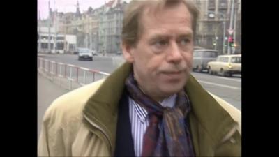 В София вече има площад на името на Вацлав Хавел
