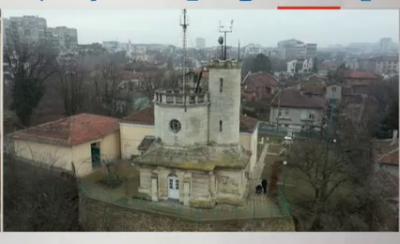 Какво се измерва от флотската кула в Русе?
