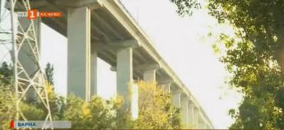 Тежка катастрофа на Аспаруховия мост във Варна