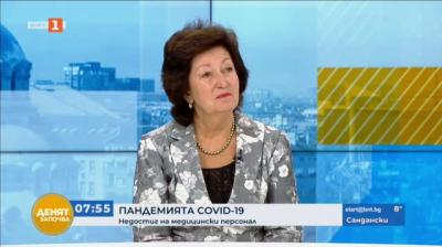 Милка Василева: Системата на здравеопазването е пред колапс поради липса на медицински сестри