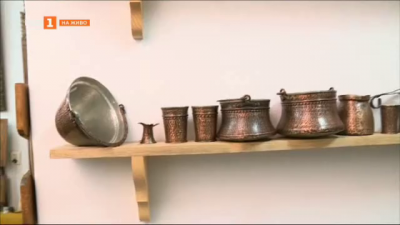 Димитър - майсторът на медни съдове в Русе