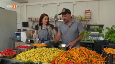 На гости във фермата за люти чушки на Александър Кюркиев