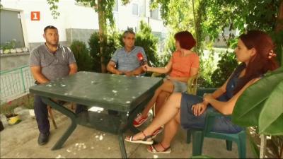 Среща със семейство Татарлъ в село Драгаш Воевода
