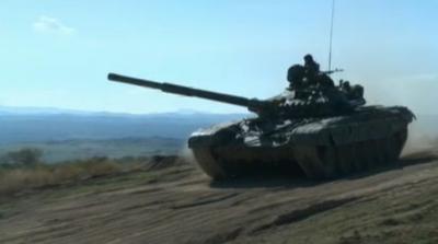 Военно учение Балканска стена 2020