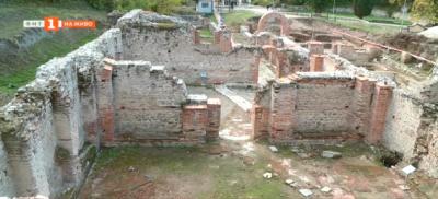 Антична отоплителна система в римските терми в Хисаря