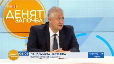 Проф. Асен Балтов: В Пирогов около 100 медици са с коронавирус