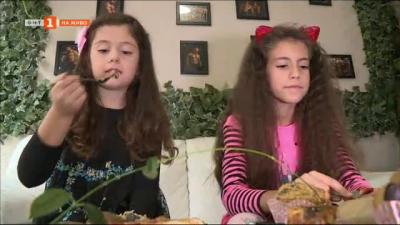 Храна в кутия: Шампион по бодибилдинг учи децата си на здравословно хранене