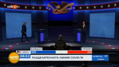 Как подходиха кандидатите за президент към COVID?