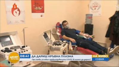 Лечение на COVID-19 - къде може да дарим кръвна плазма