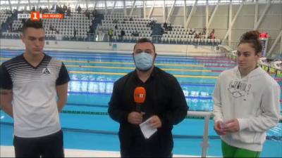 Трета олимпийска квота в плуването и срещи с олимпийските ни надежди в Бургас