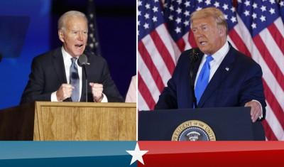 Надпреварата за Белия дом: Тръмп или Байдън?