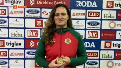 Мария Оряшкова спечели своята 6 световна титла в самбото