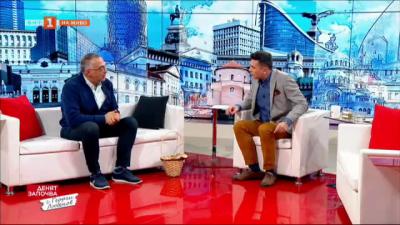 Антон Кутев с кошница гъби в БНТ - какво е общото между хобито на депутата и политиката