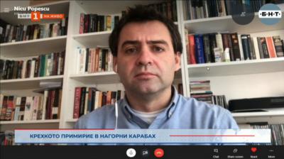 Нику Попеску: Турция спечели репутация от конфликта в Нагорни Карабах